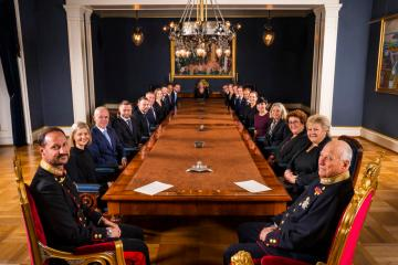 Photo Story: Change of government in Norway