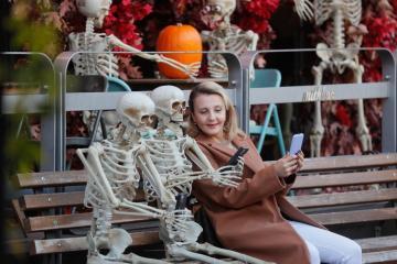 Photo Story: Halloween preparations in Ukraine