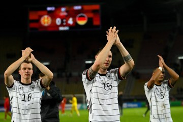 Germany becomesfirst European team to qualify for 2022WorldCupwith North Macedonia win