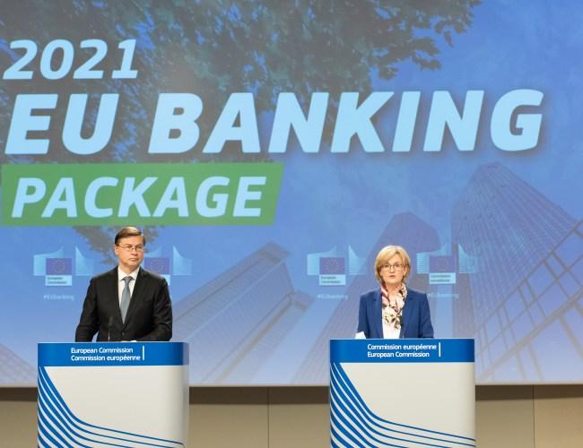 EU pledges 'faithful' application of global bank capital rules from 2025