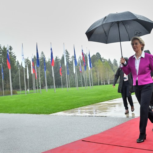 UPDATED: You are family, EU chief tells Balkans; leaders not so sure