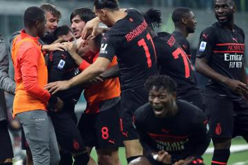 Milan go top with comeback win over Verona in five-goal thriller