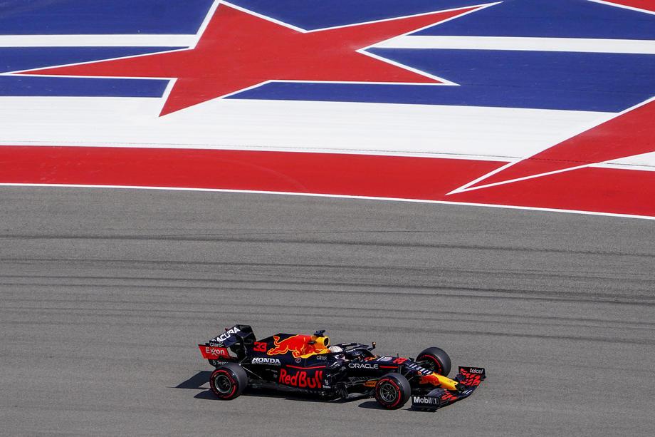 Verstappen on pole and Hamilton alongside in Texas