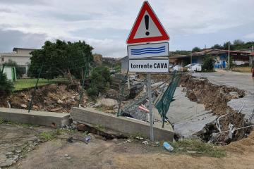 VIDEO: At least one person killed after Mediterranean hurricane batters Sicily