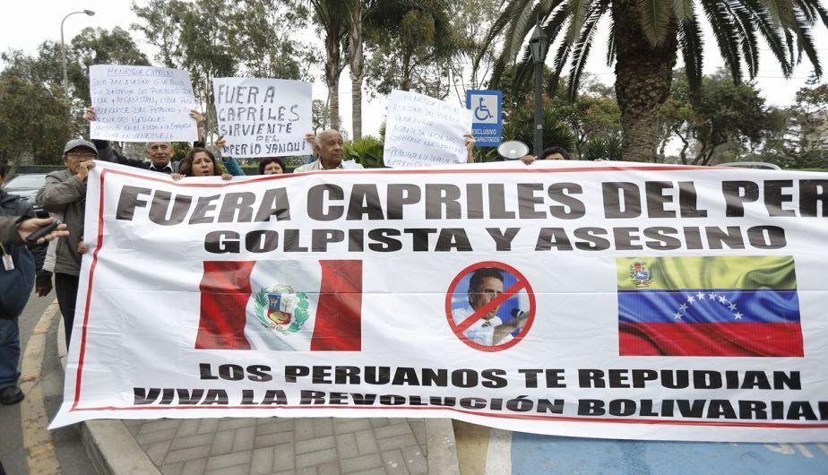 Henrique Capriles: 'Ollanta Humala salió del gobierno por la puerta de atrás' [Fotos]
