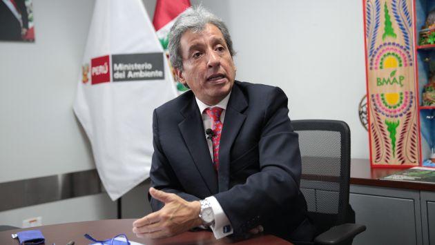 """""""Se tiene que retirar a los mineros ilegales de La Pampa"""", señaló. (Perú21)"""