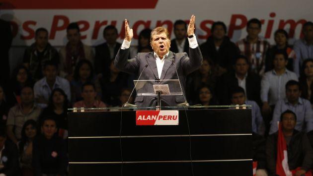 Congreso Aprista eligió a Alan García como presidente del partido. (USI)