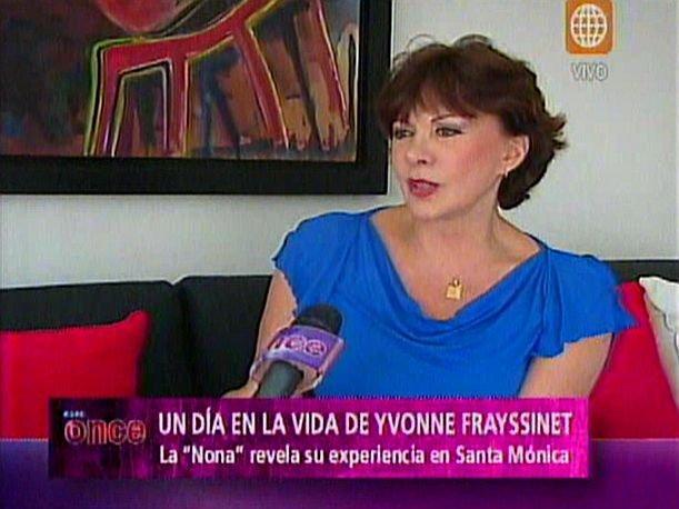 Al fondo hay sitio: Yvonne Frayssinet revela su experiencia de haber estado en Santa Mónica