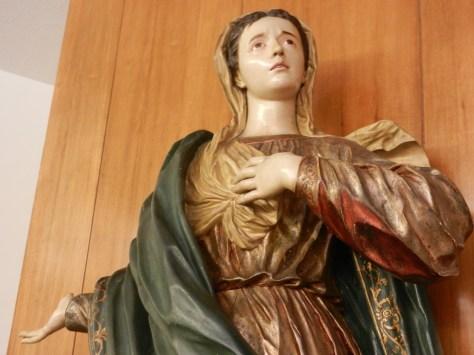 Virgen María. Conjunto Calvario de la Capilla.