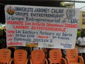 Journée Carrière Entrepreneuriale du GE