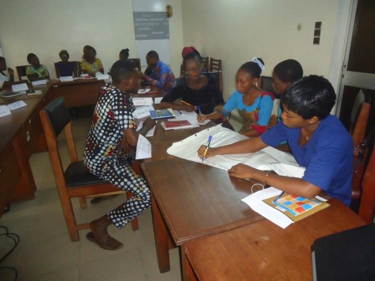 Photo des participants en atelier