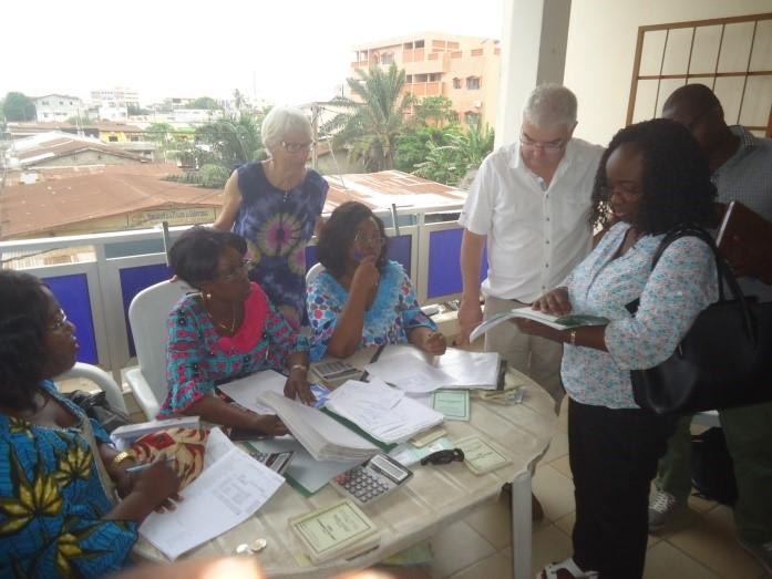 Rencontre avec les femmes du GMEC de l'association Espérance des Couturiers