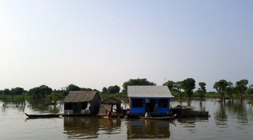 Tonle Sap Lake, Central Cambodia