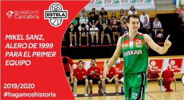 Mikel Sanz se incorpora a Igualatorio Cantabria Estela