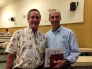 Paul Olin (Sea Grant Aquaculture Specialist) & Neil Sims (Co-founder, CEO Kampachi Farms)