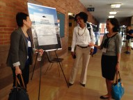 Shauna Oh (Executive Director CSMI UC Davis), Letise LaFeir (California Ocean Policy Manager Monterey Bay Aquarium), & Paula Daniels (Founder LAFPC)