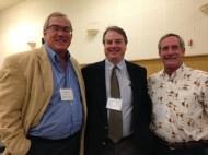 Don Kent (President Hubbs-Sea World Research Institute), Randy Lovel (California State Aquaculture Coordinator), Paul Olin (Sea Grant Aquaculture Specialist)