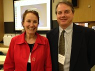 Helene York (Global Director, Responsible Business, Compass Group @Google) & Randy Lovell (California State Aquaculture Coordinator)