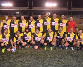 Foto de equipo de los veteranos del C.D. Galapagar