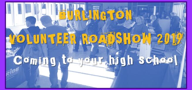 Burlington Volunteer Roadshow