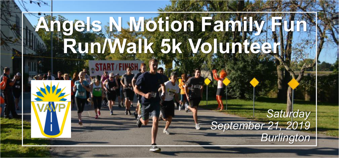 Angels in Motion Fun Run/Walk Volunteer