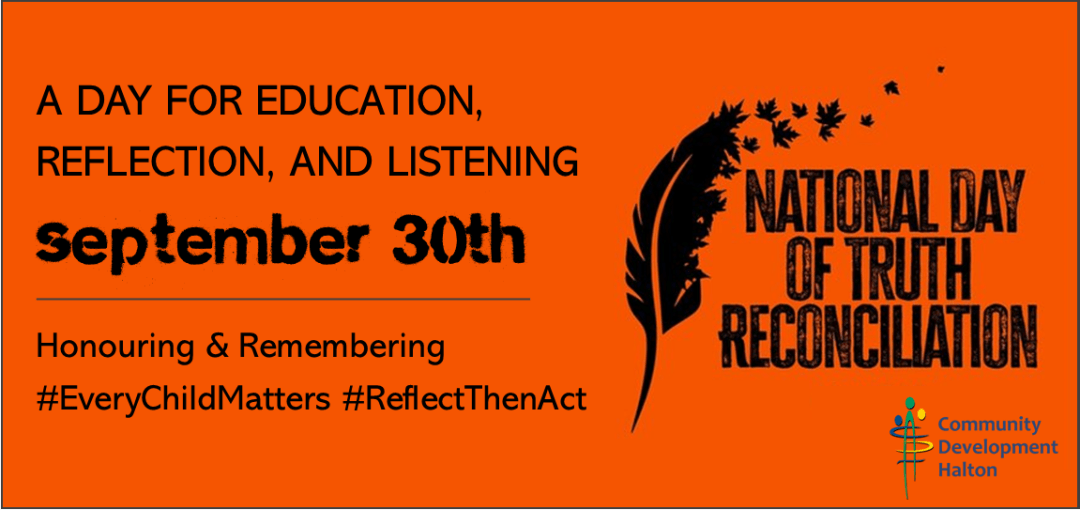 National Day for Truth and Reconciliation – Orange Shirt Day
