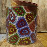 African Swazi Decorated Candles