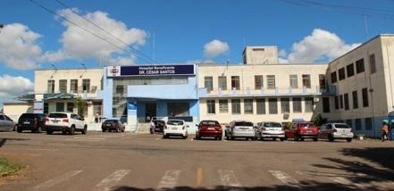 Hospital Beneficente César Santos em Passo Fundo.