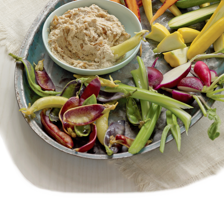 Healthy Summer Recipes: Chunky Onion Dip