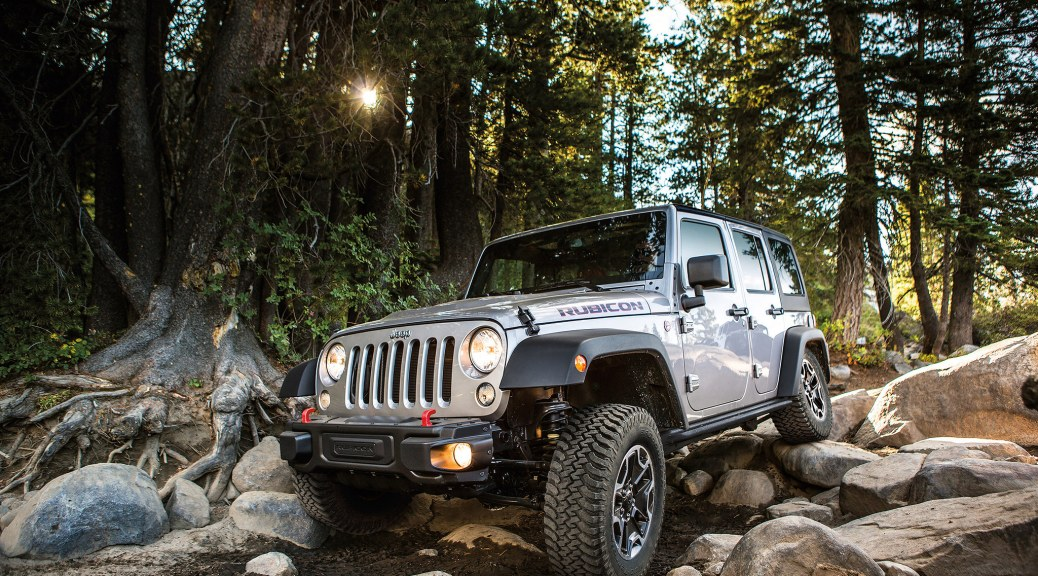 Jeep® Wrangler Obstacle Course
