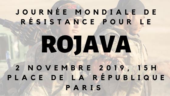 JOURNÉE MONDIALE DE RÉSISTANCE POUR LE ROJAVA
