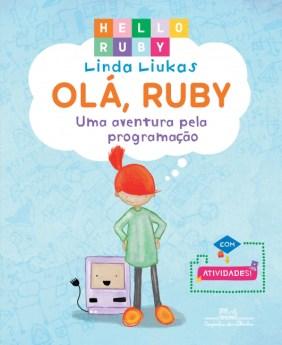 Capa do livro Olá Ruby para ensinar programação para crianças