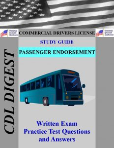 CDL Study Guide Passenger Endorsement