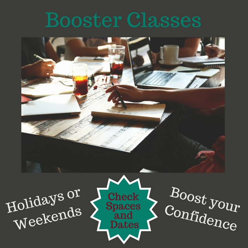 gcse booster classes
