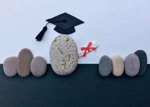graduation stones