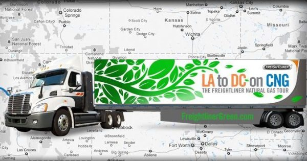 CNG Powered Truck Tour 2012