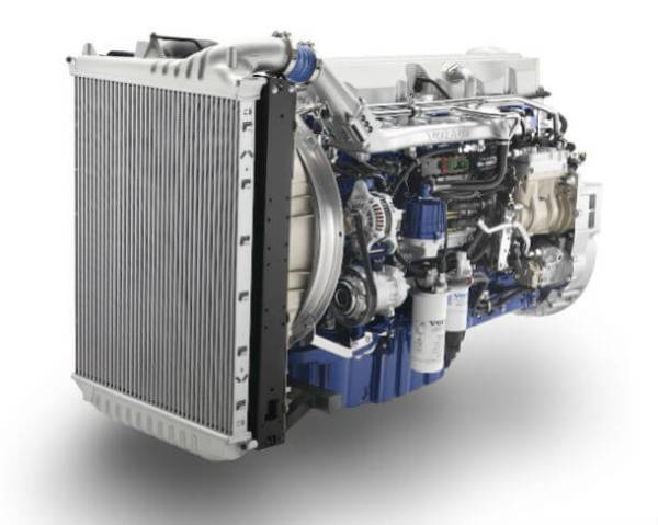 Volvo Launches Natural Gas Powered Engine