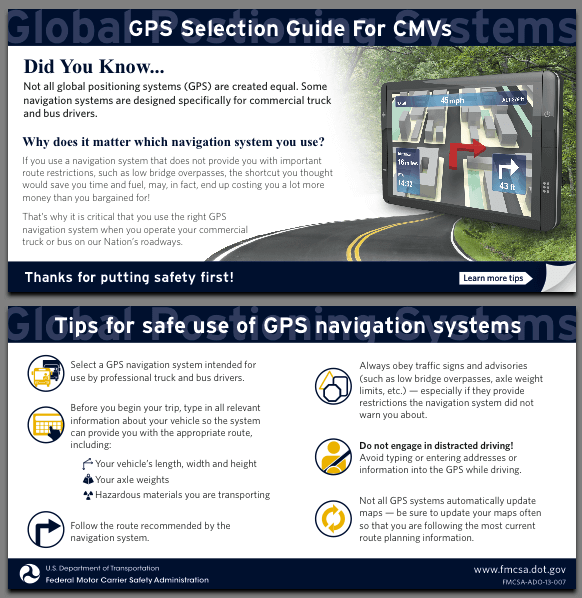 GPS Guidelines