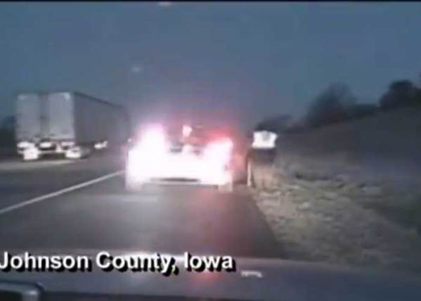 Video: Trooper Narrowly Avoids Airborne Pickup
