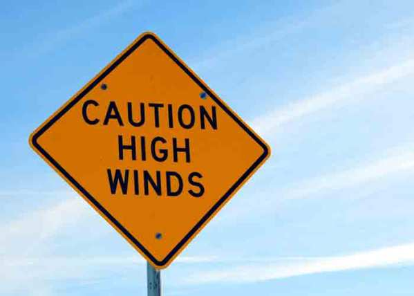 Hurricane-Force Winds Flip Over Trucks in Colorado
