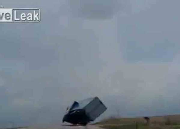 Video: Oilfield Trucker Hits Bridge with Crane