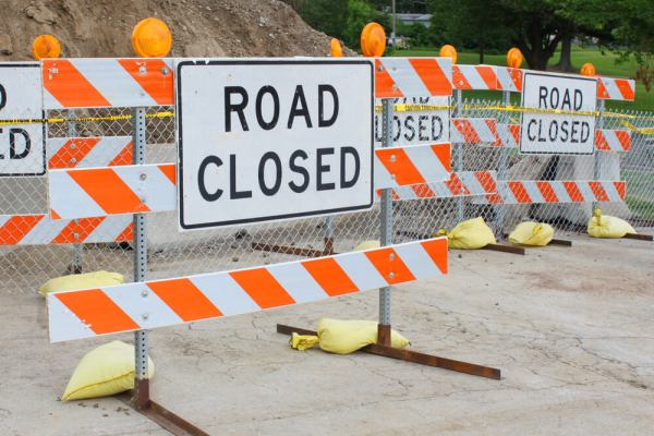 1-80 Ramp closed in Cheyenne WY for 30 days