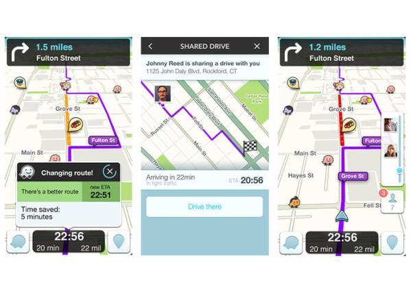 Waze App Preview