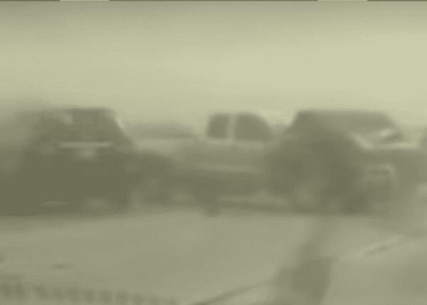Dust Storm In Bakersfield