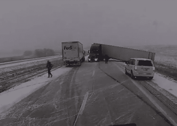 CB Warnings Keep A Bad Pileup From Becoming Much Worse