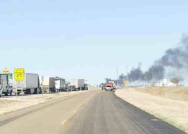 Trucker Dies After Crashing Off Of I-40 Bridge Into Overpass Pillar