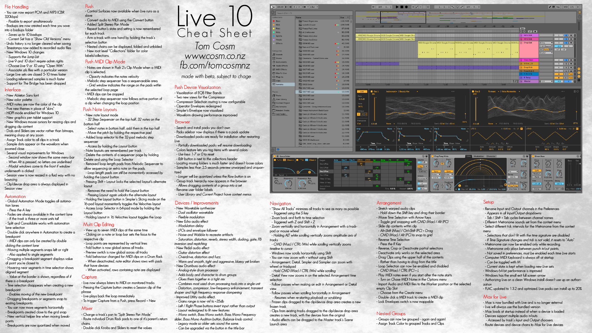 Ableton Live 10 In Depth Hands On Impressions What S New