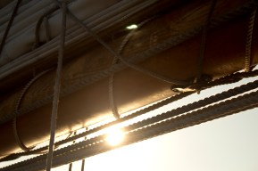 Sunlight through the sails