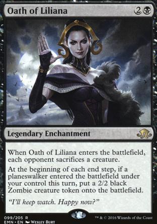 Oath of Liliana in Eldritch Moon