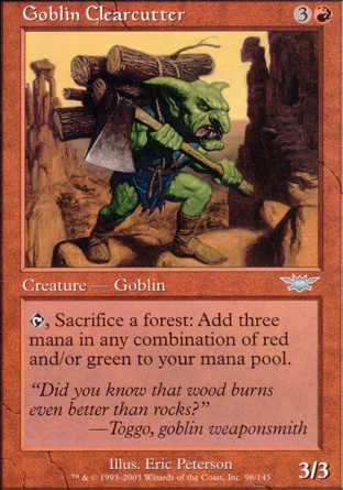 Goblin Clearcutter in Legions